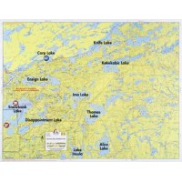 Fisher Maps - BWCA & Quetico